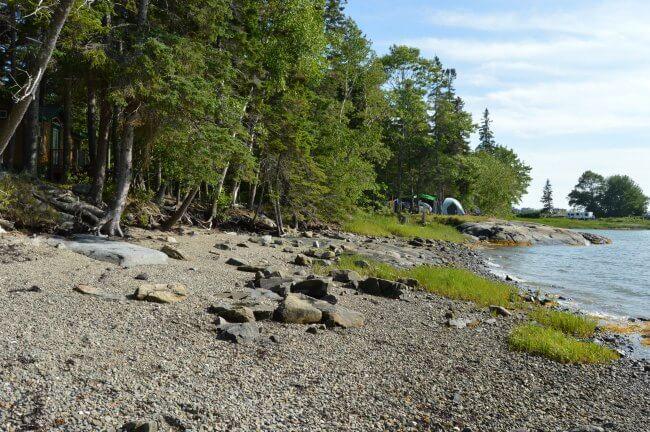 bar harbor camping
