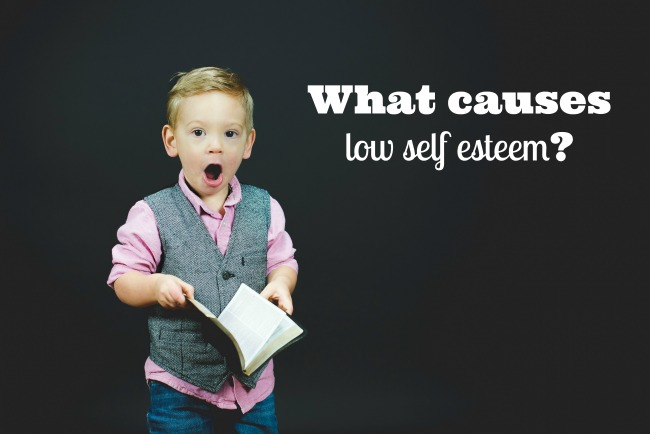 what causes a low self esteem