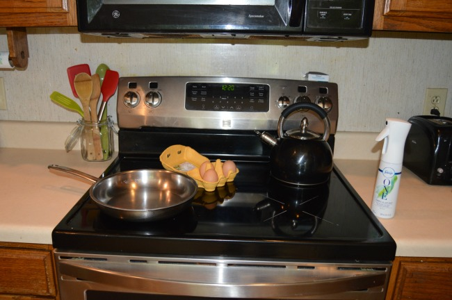 eliminate kitchen odors