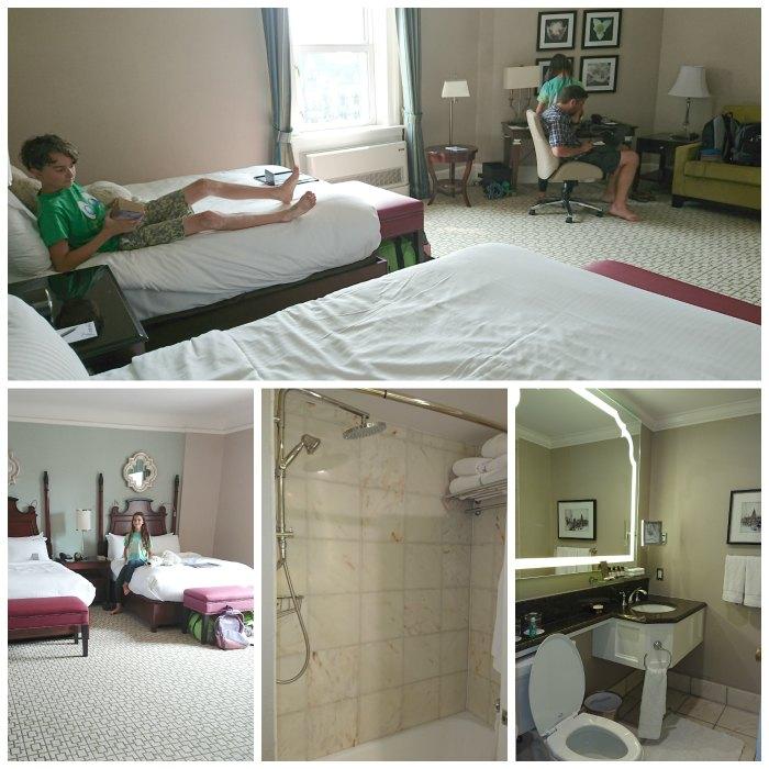 fairmont ottawa hotel room