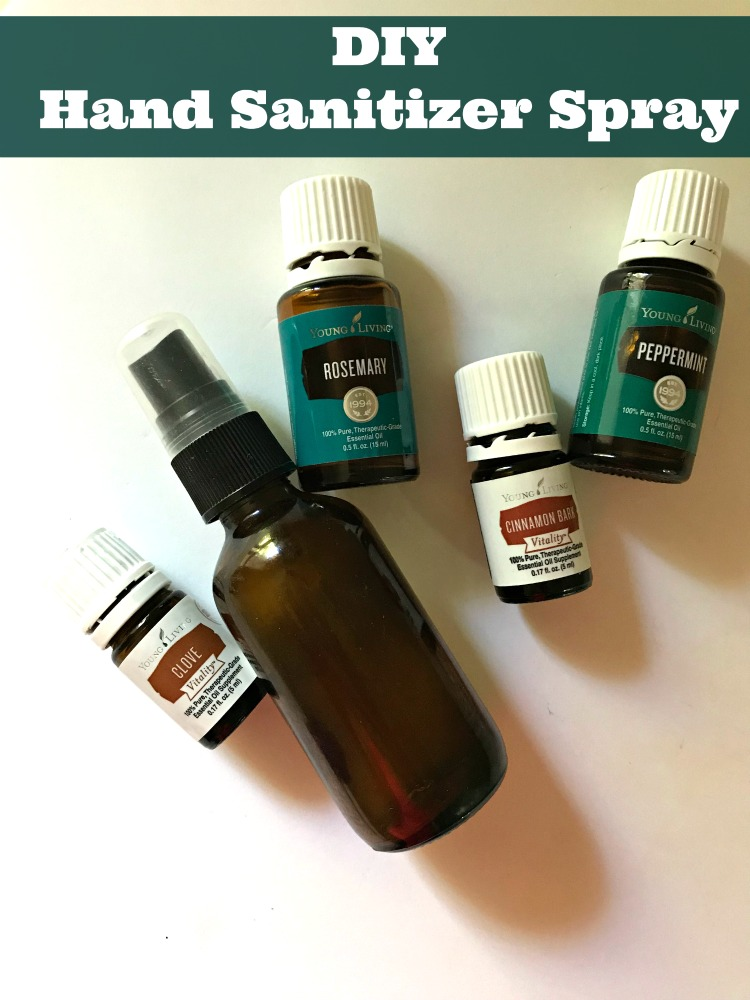 DIY Hand Sanitizer Spray
