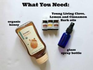 diy sore throat spray essential oils
