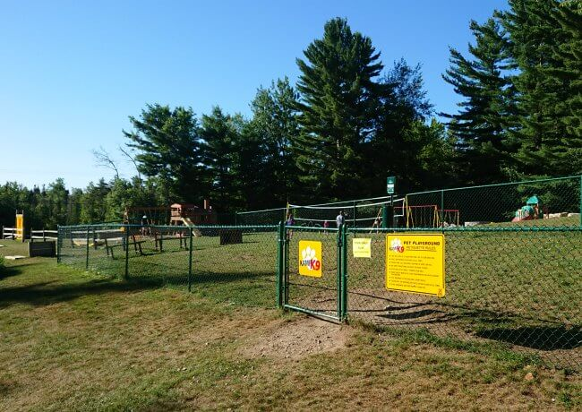 twin mountain koa dog park