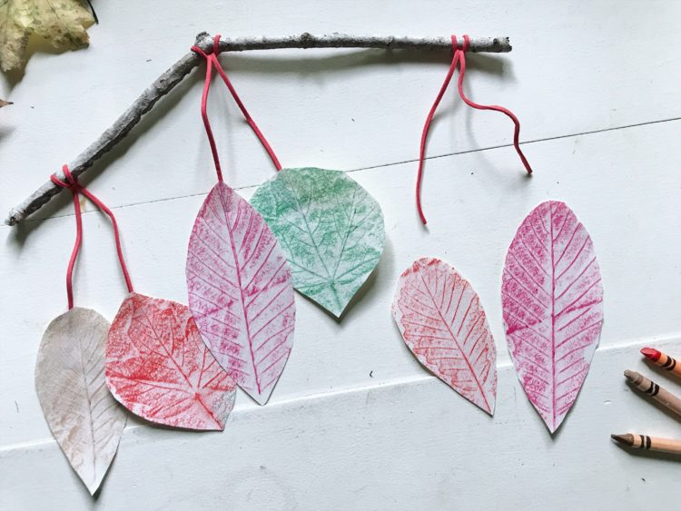 Leaf Shading Door Decoration Craft For Kids