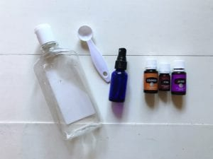 DIY essential oil sprays