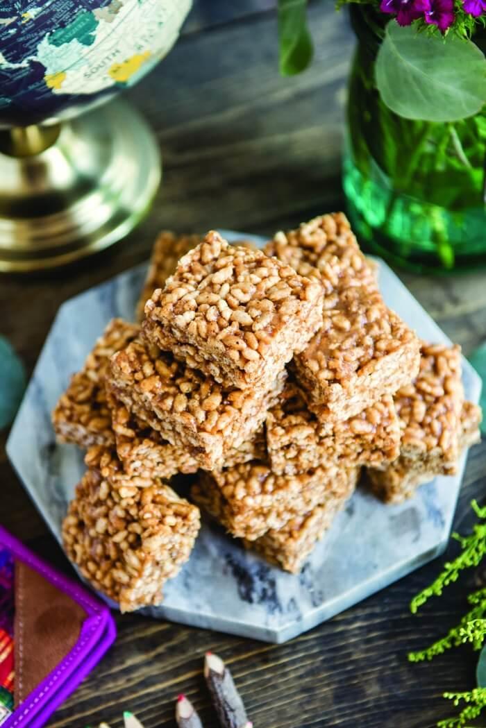 Healthy Cereal Bar Recipe