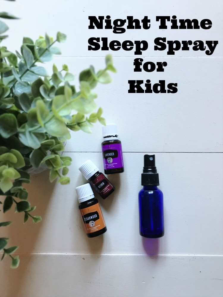 night time essential oil spray