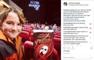 Phantom Of The Opera Broadway at TPAC