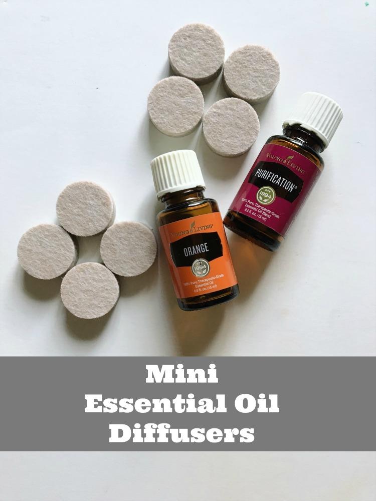 Mini DIY Essential Oil Diffuser