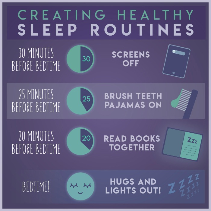 healthy sleep routines