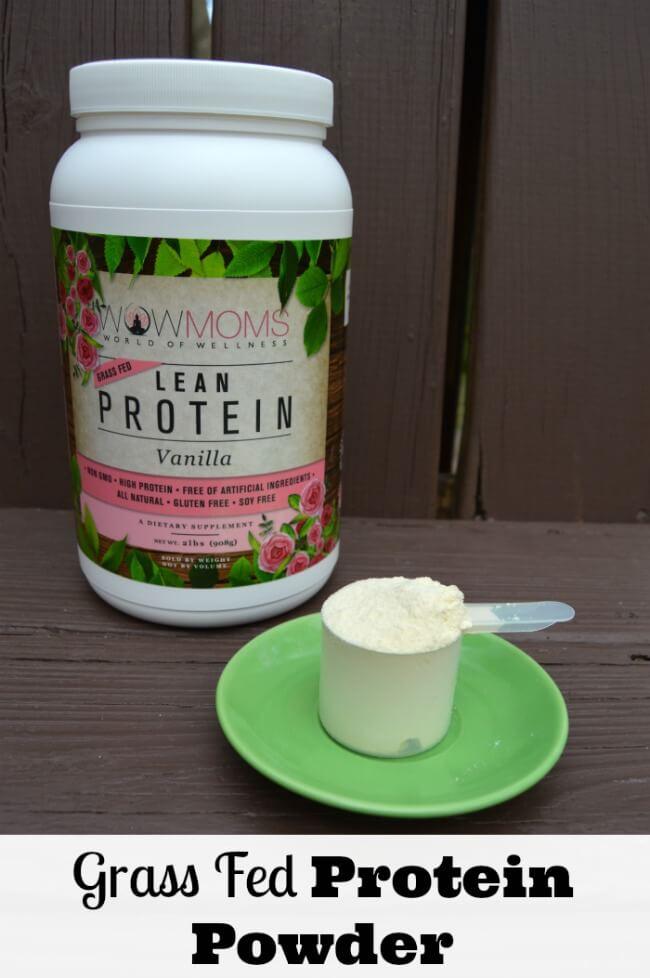 Grass Fed Protein Powder