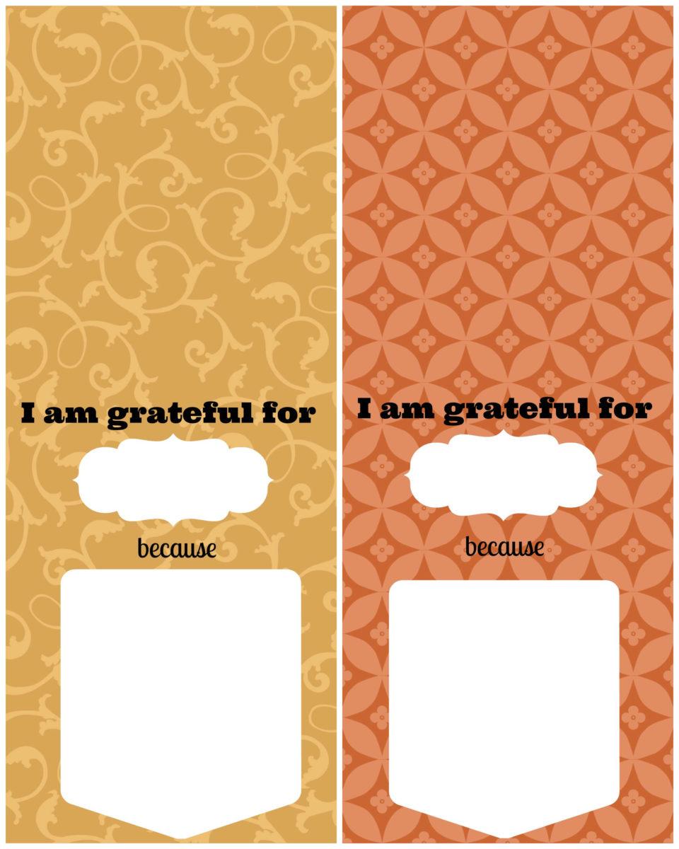 Gratitude Gift Printables