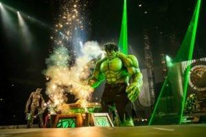 Hulk Marvel Live