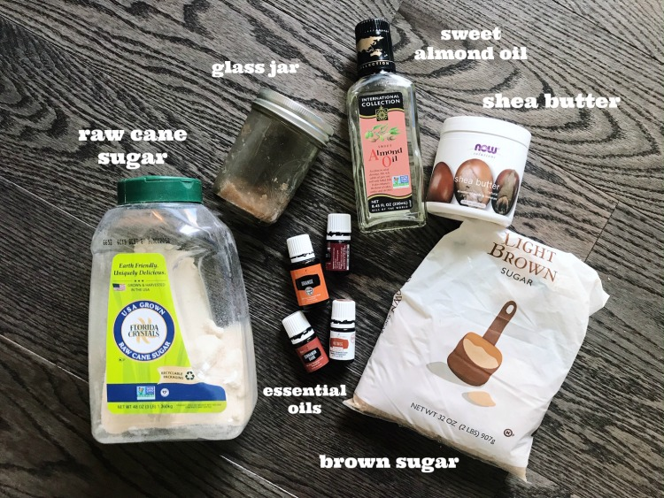homemade brown sugar scrub recipe