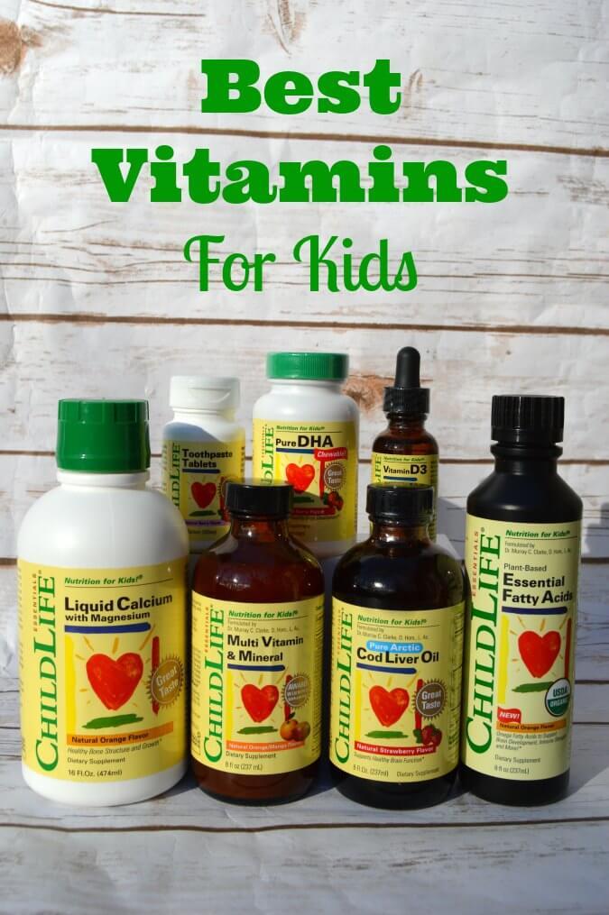 Childlife Liquid Vitamins For Kids That Taste Great