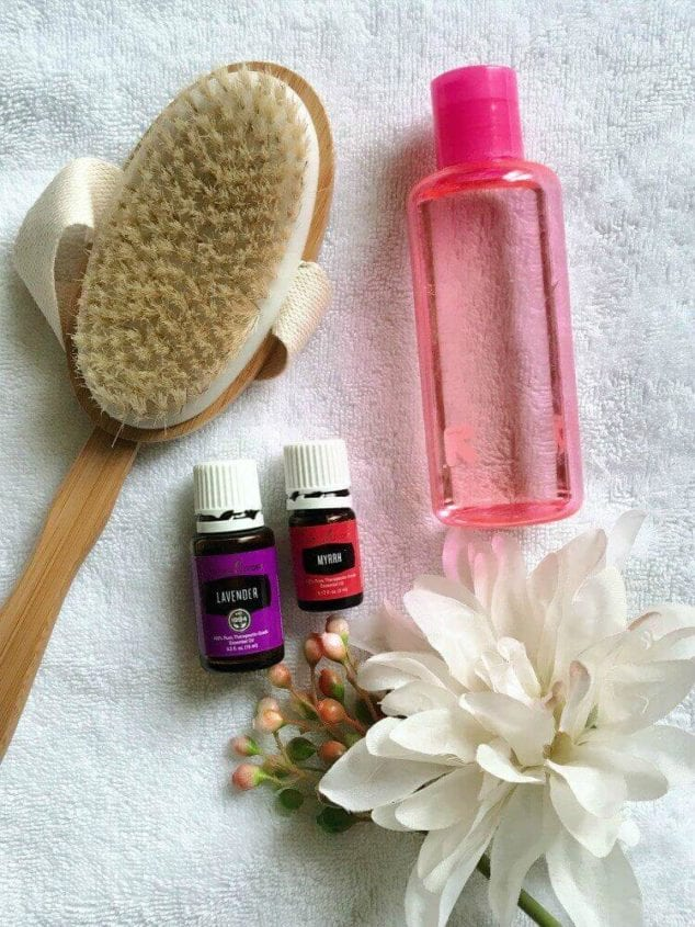 diy scented body oil