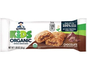 organic whole grain bars