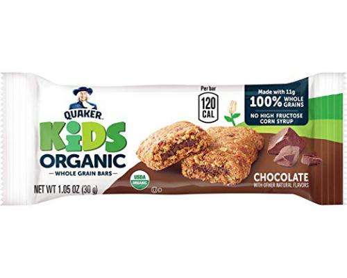 organic whole grain bars