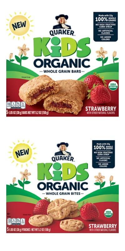 whole grain snacks organic