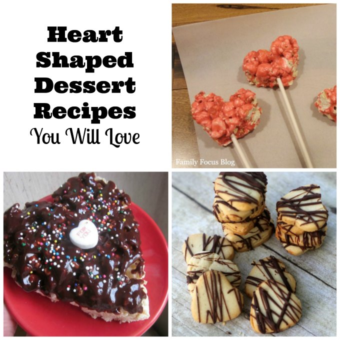 heart shaped dessert recipes