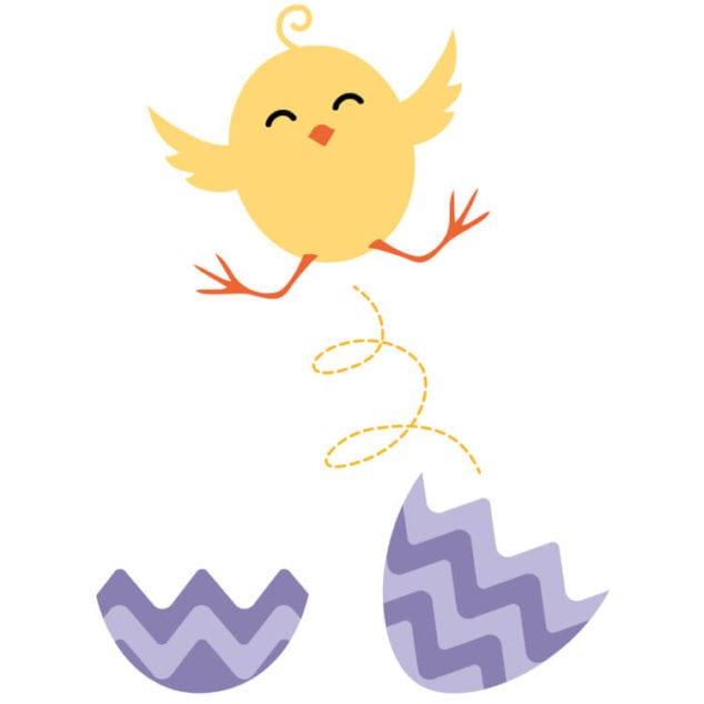 Free Easter Chick Printable