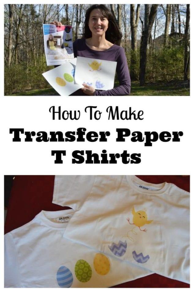 transfer paper t shirts