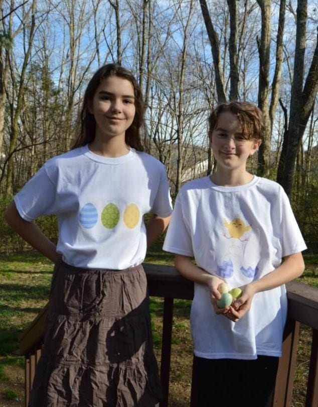 easter t shirts kids