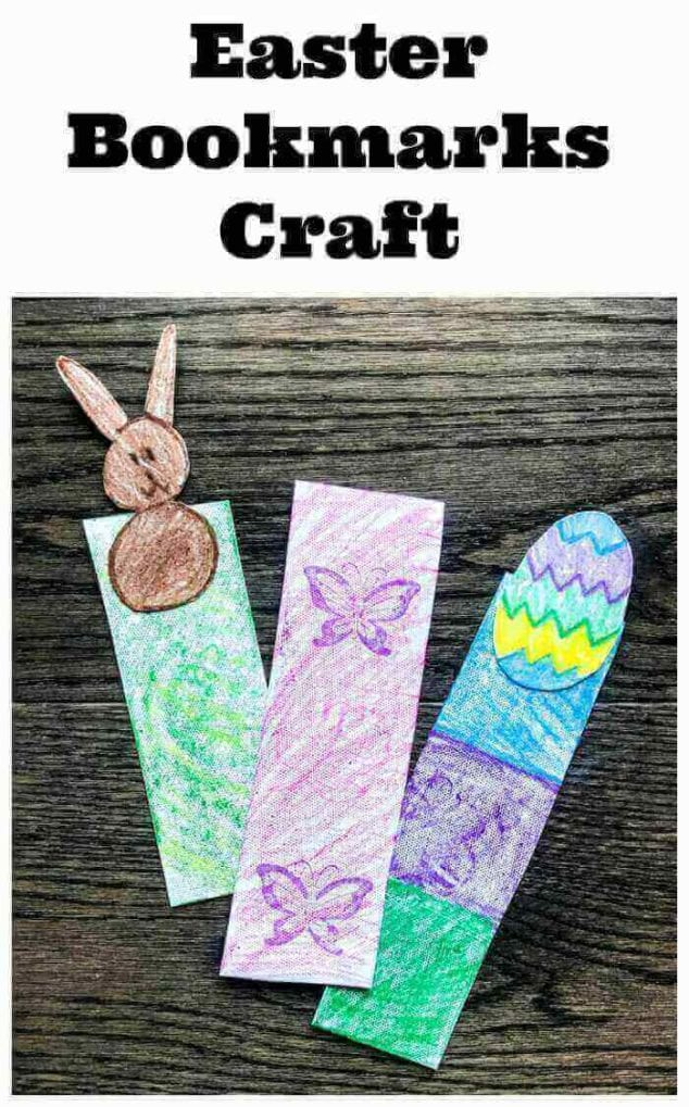 Easter Bookmarks Craft