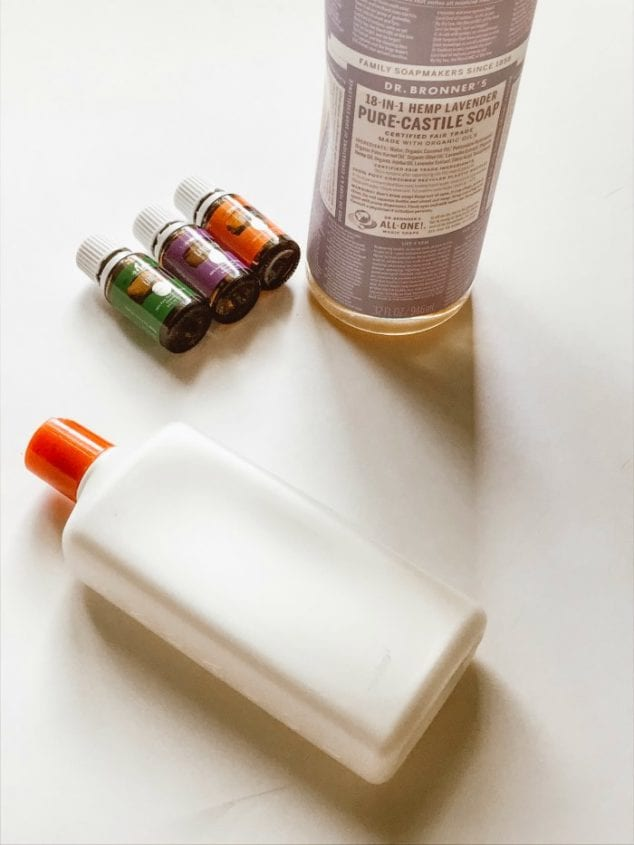 Shower Body Wash Recipe