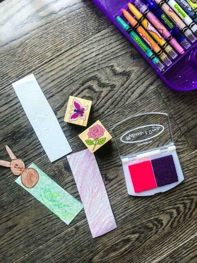 easy homemade bookmarks