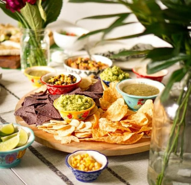 summer backyard party ideas - fiesta