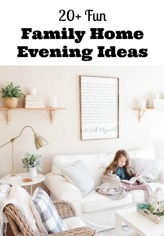 family home evening ideas