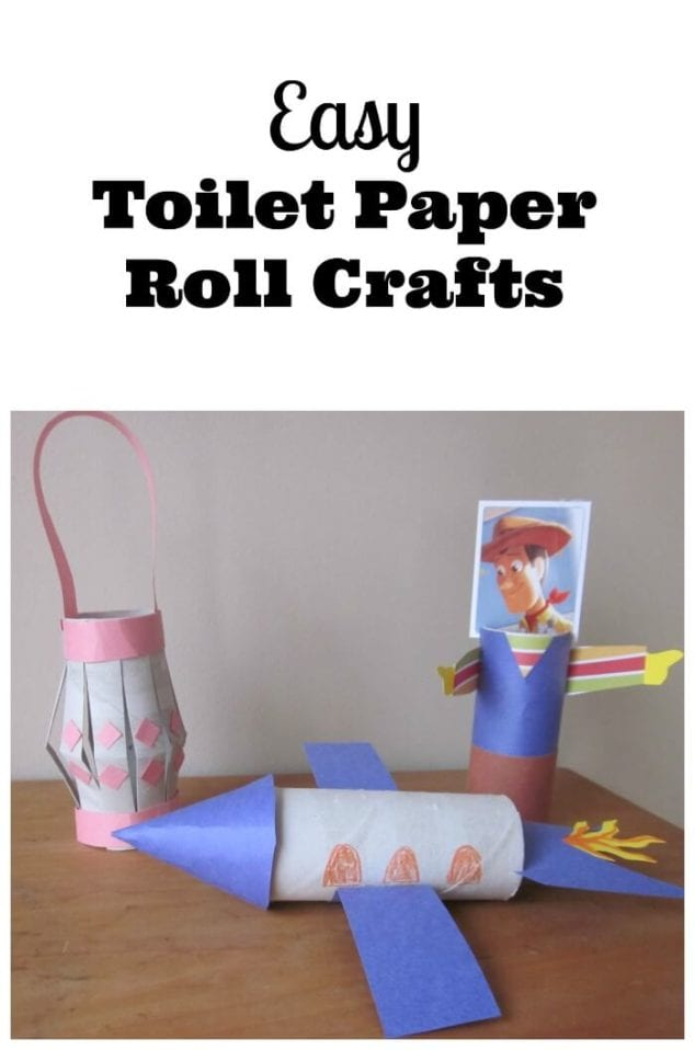 easy toilet paper roll crafts