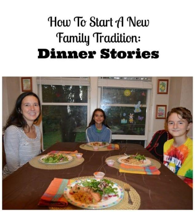dinner stories
