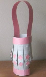 toilet paper roll lantern