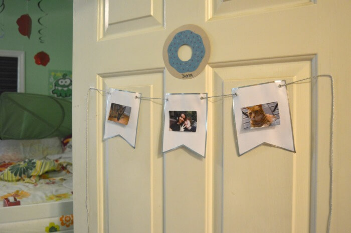 display for polaroid pictures