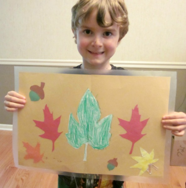 fall leaf placemats