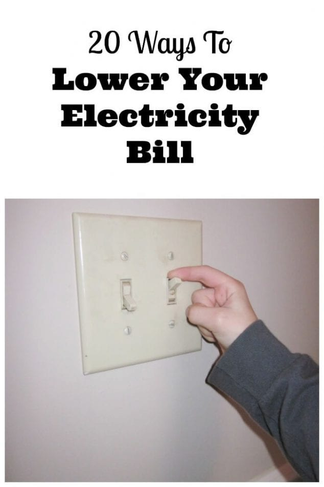 how to lower electricity bill