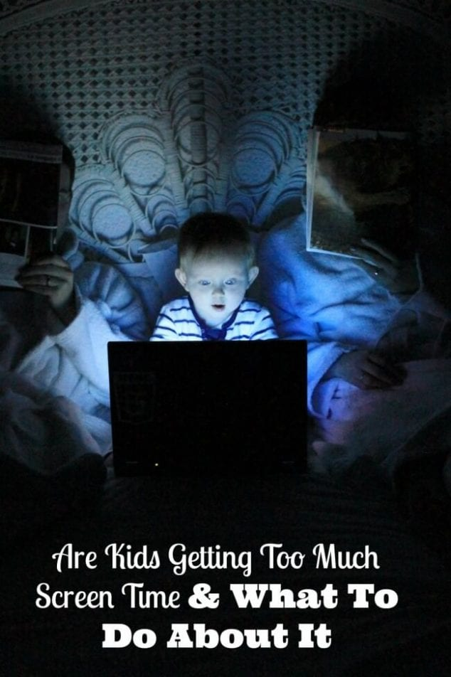 Kids Too Much Screen Time