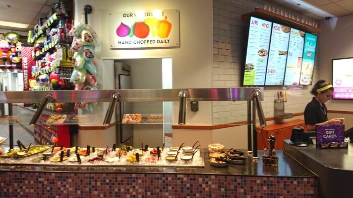 Chuck E Cheese open kitchen