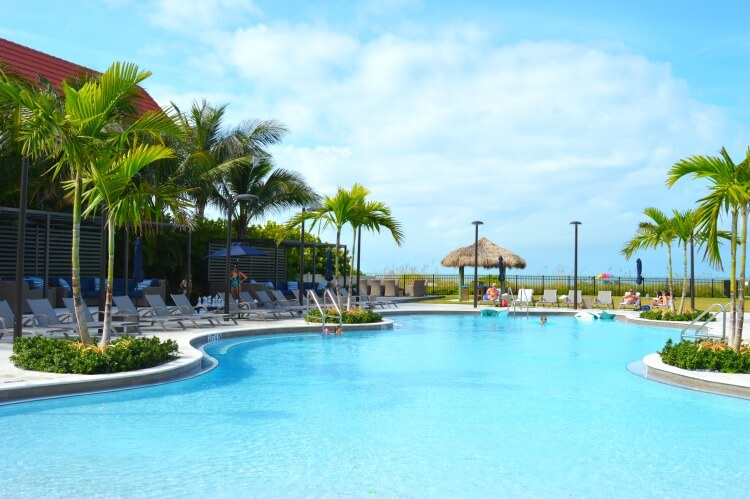anna maria beach resort pool