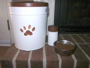 pet food storage ideas