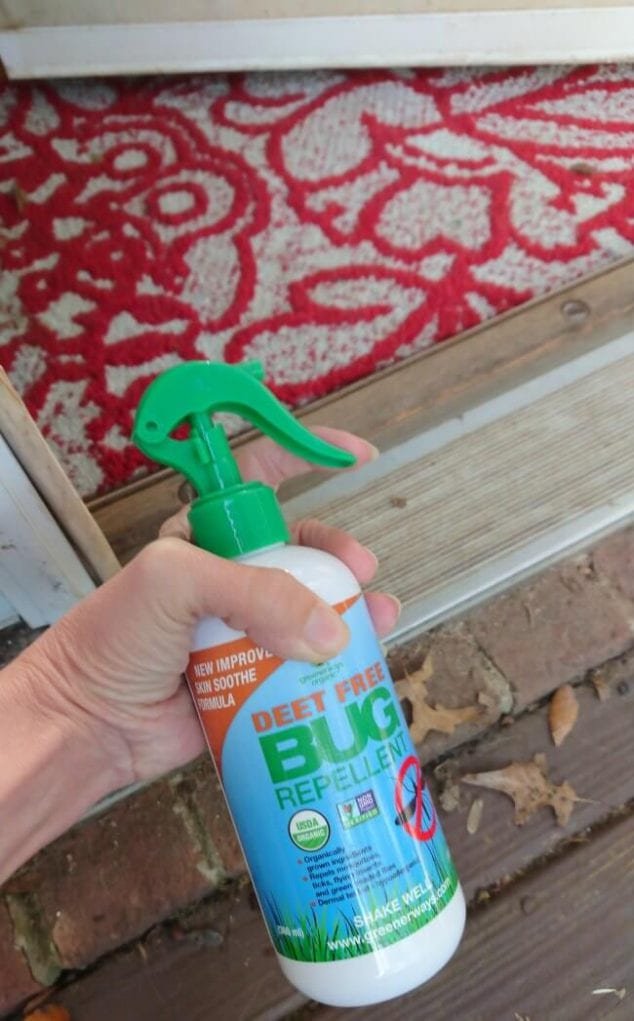 safe insect repellent spray