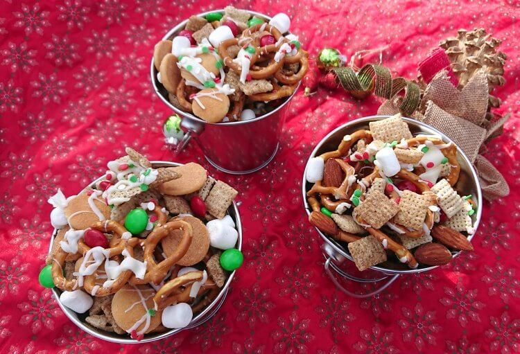 christmas chex mix recipe