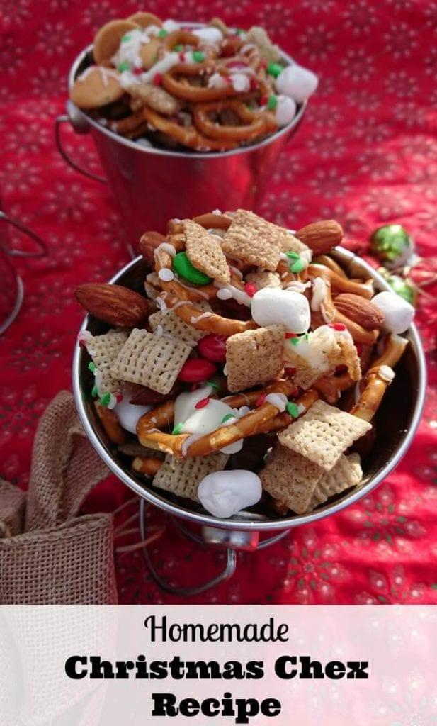 Christmas chex recipe