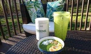 drinking my greens