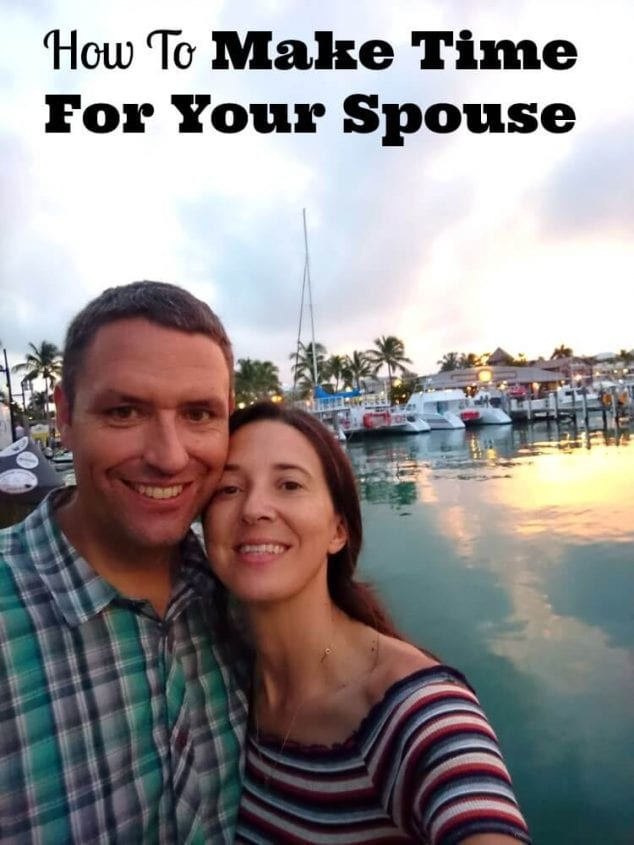how to make time for your spouse