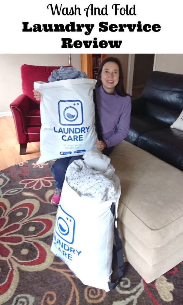 wash and fold laundry service review