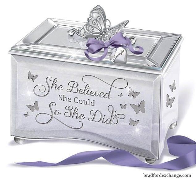 she believed music box