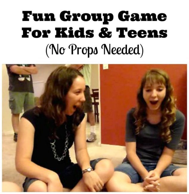 group game for kids and teenagers